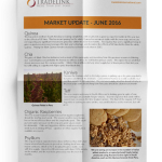 Ancient Grain Market Update June 2016