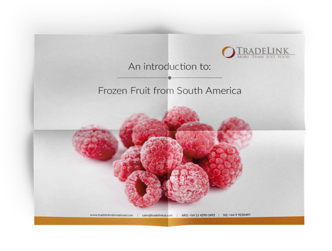 South American Frozen Fruit Report